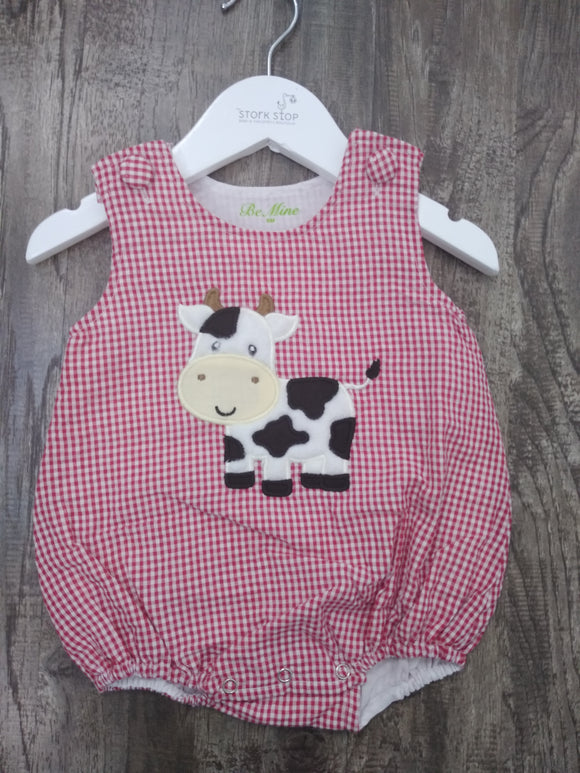 Gingham Cow Bubble