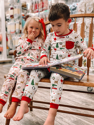Girl Chistmas Pajamas
