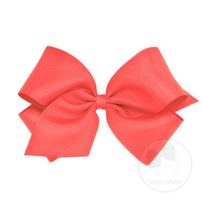 King Classic Grosgrain Bow- Watermelon