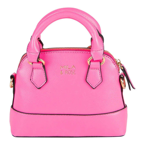 Mila and Rose Purse - Neon Pink