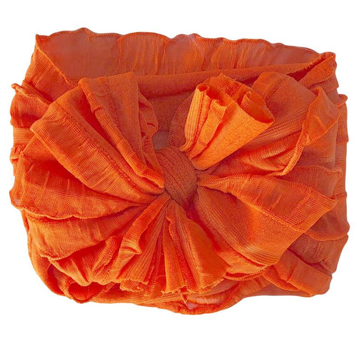 In Awe Couture Headband- Orange