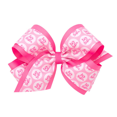 2 PK Big & Little Sister Bows