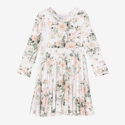 Delilah Long Sleeve Twirl Dress