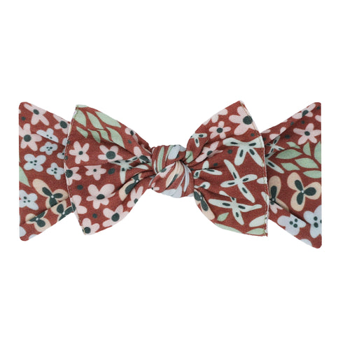 Printed Knot-Spice Floral