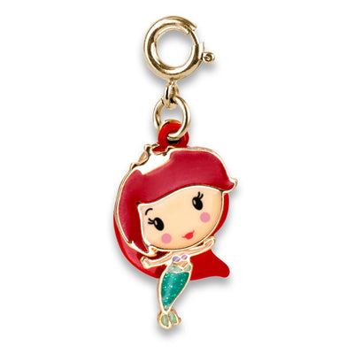 Gold Swivel Ariel Charm