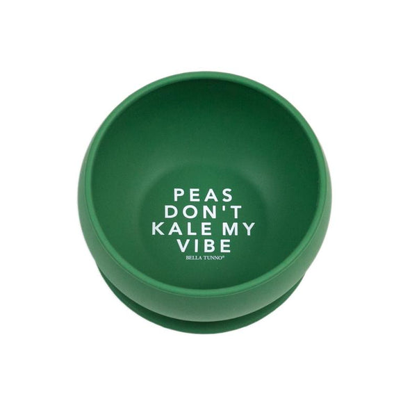 Peas Don't Kale My Vibe Wonder Bowl - Green
