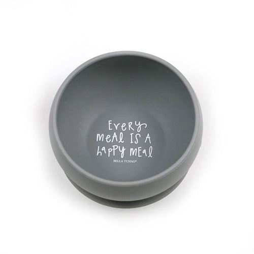 Every Meal is a Happy Meal Wonder Bowl - Gray