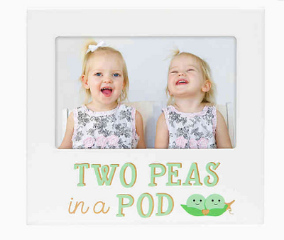 Two Peas In A Pod Picture Frame