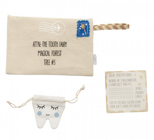 Tooth Fairy Envelope - Blue