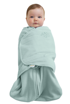 SleepSack Swaddle - Mint Fleece - Preemie