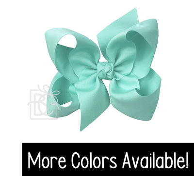 "Grosgrain Double Knot- Jumbo 6.5"" Bow"