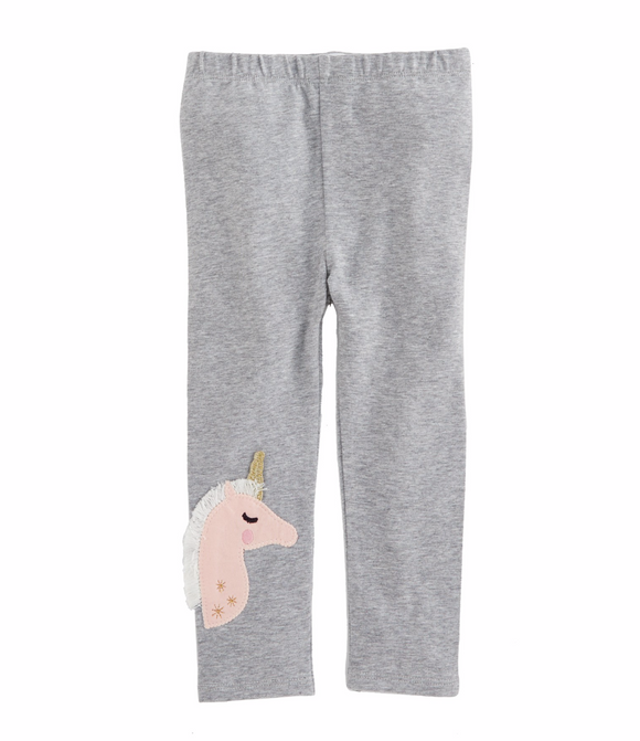 Grey Unicorn Leggings
