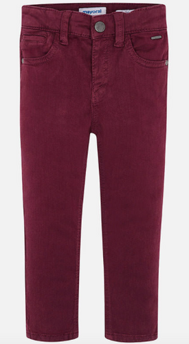5 Pocket Slim Fit Purple Pant