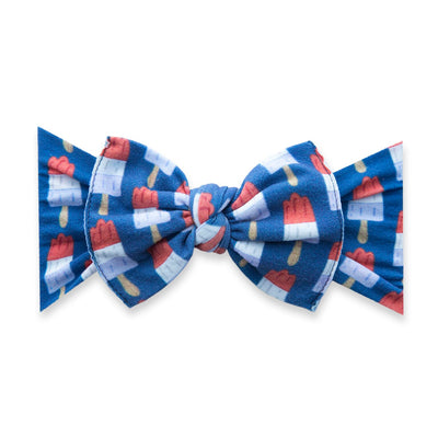 Printed Knot-Patriotic Popsickle