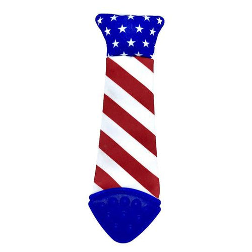 Baby Teething Tie - USA Flag