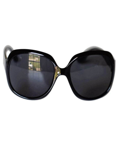 Oversized Sunglasses- Black
