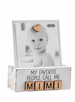 Grandma Photo Block - Mimi