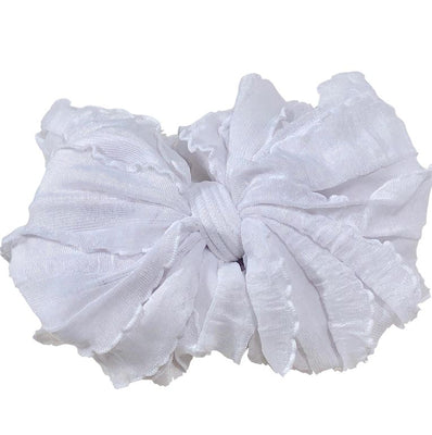 In Awe Couture Headband- White