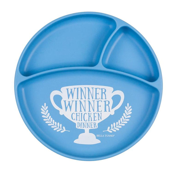 Winner Winner Wonder Plate - Blue