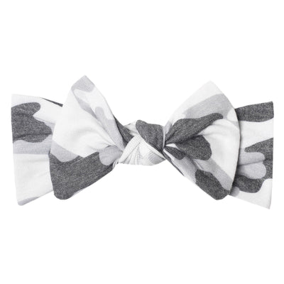 Knit Headband Bow- Gunnar