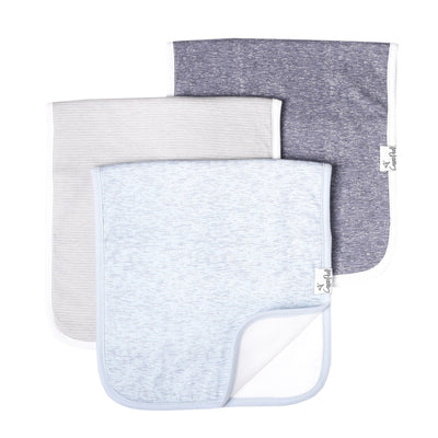 Set of Three Premium Burp Cloth - Lennon