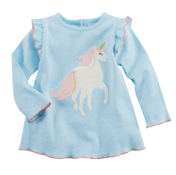 Blue Unicorn Tunic