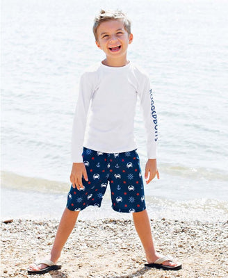 Crabby Sailor Swim Trunks