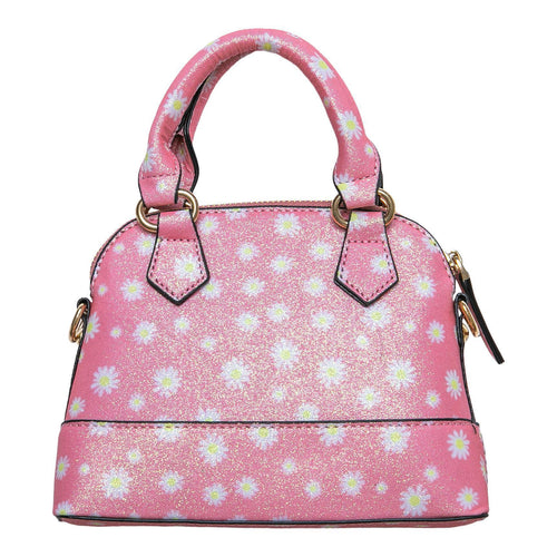 Mila and Rose Purse - Pink Daisy