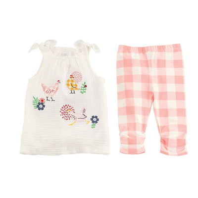 Chicken Tunic & Capri Set