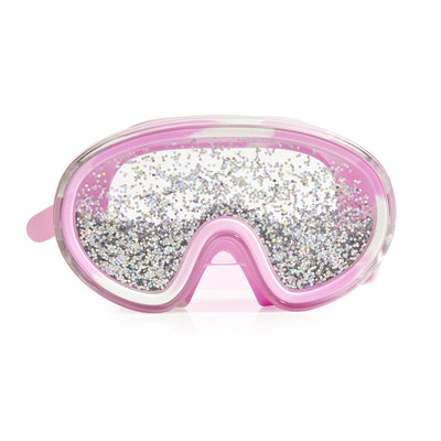 Disco Fever Swim Mask - Glitter Bubblegum Pink