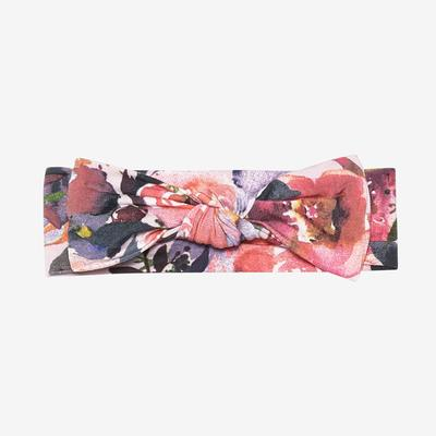 Infant Headwrap - Dusk Rose
