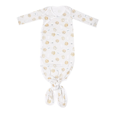 Newborn Knotted Gown- Chip
