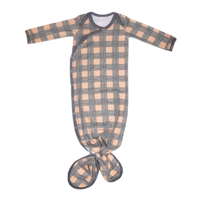 Newborn Knotted Gown- Billy