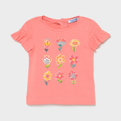 Flamingo Pink Short Sleeve T-Shirt