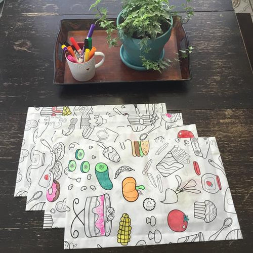 Coloring Table Placemat