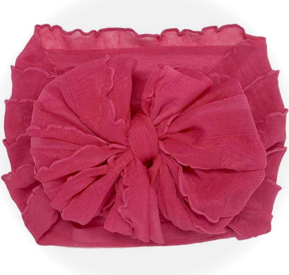 In Awe Couture Headband- Hot Pink