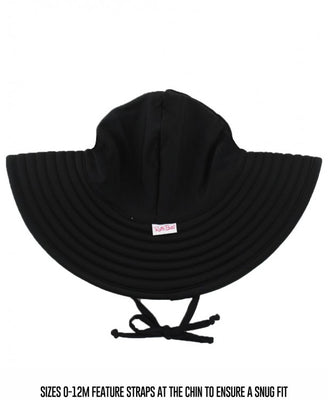 Black Swim Hat