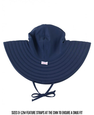 Navy Swim Hat