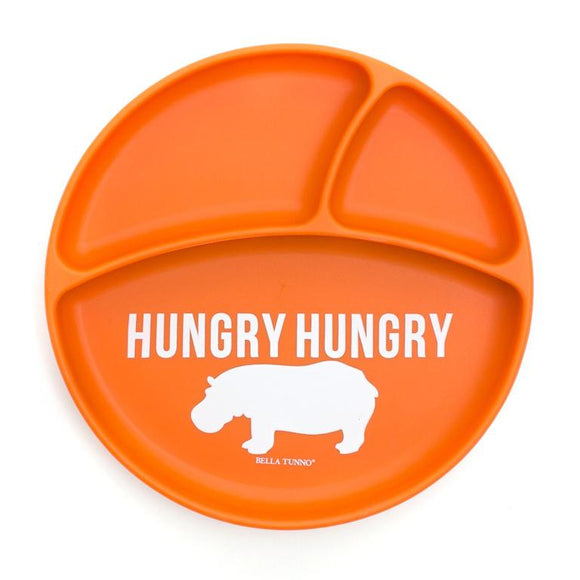 Hungry Hippo Wonder Plate - Orange