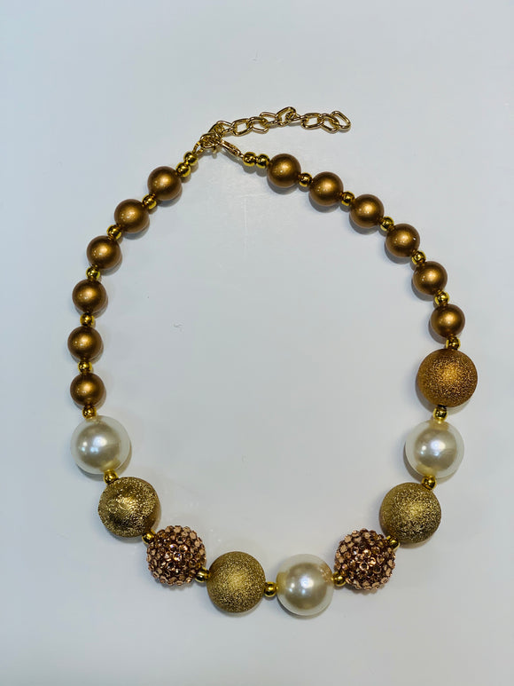 Goldie Bubble Necklace