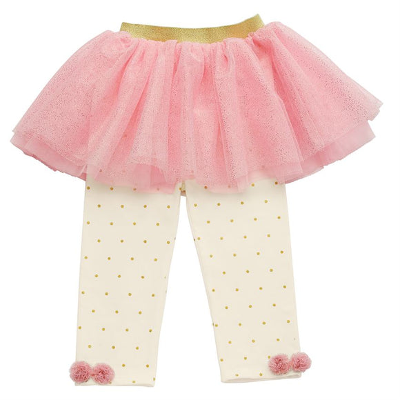 Tutu Leggings - Ivory