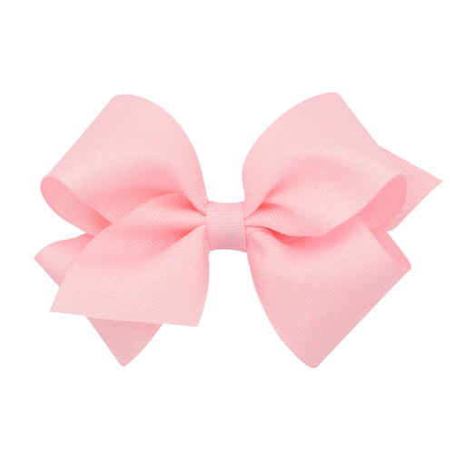 Large Wee Sparkle Basic Bow- Light Pink