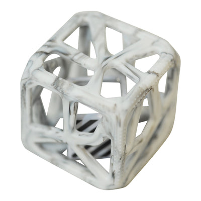 Chew Cube- Marble Grey