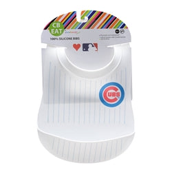 MLB Silicone Bibs-Cubs