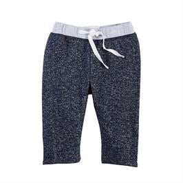 Navy Reversible Drawstring Pants