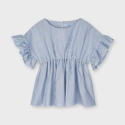 Ruffled Sleeves Blouse- Girl