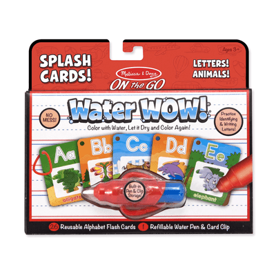 Water Wow!- Splash Cards Alphabet