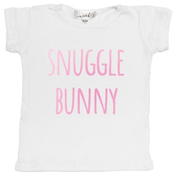 Snuggle Bunny Shirt- Baby Girl