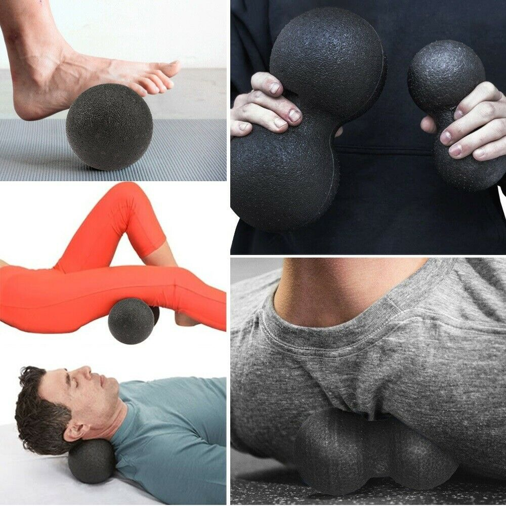 12x24(cm) Black Peanut Massage Ball/Muscle Relieve