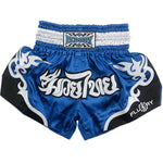Pink/Blue Fluory Fight Shorts